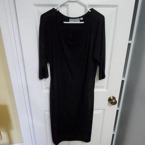 **3/$20 Black 3/4 sleeve dress
